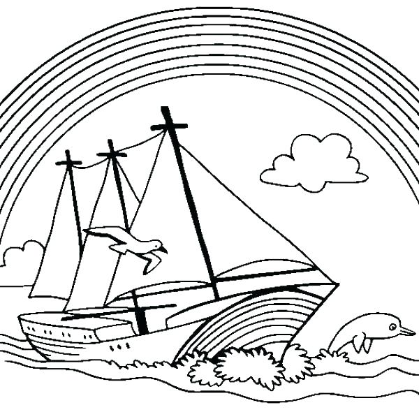 600x600 Boats Coloring Pages Boat Coloring Printable Boat Coloring Pages