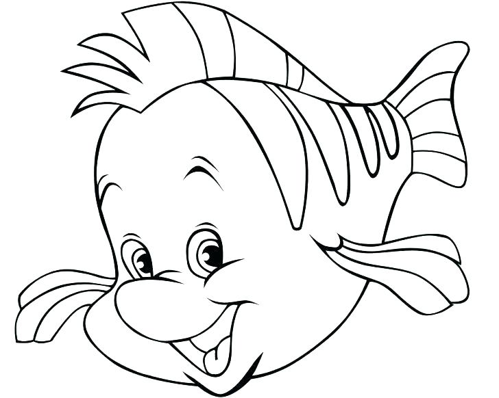 728x582 Printable Fish Coloring Pages With Fishing Pole Coloring Page Free