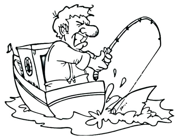 600x461 Top Of Coloring Pages Page Fishing Pole Coloring Page Coloring
