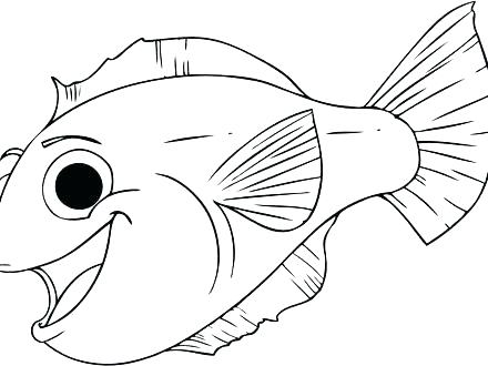440x330 Fishing Coloring Pages Printable