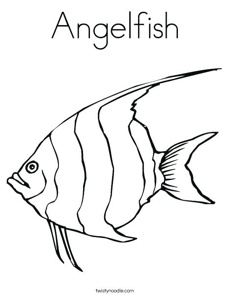 468x605 Fishing Coloring Pages Fishing Pole Coloring Page Shortened