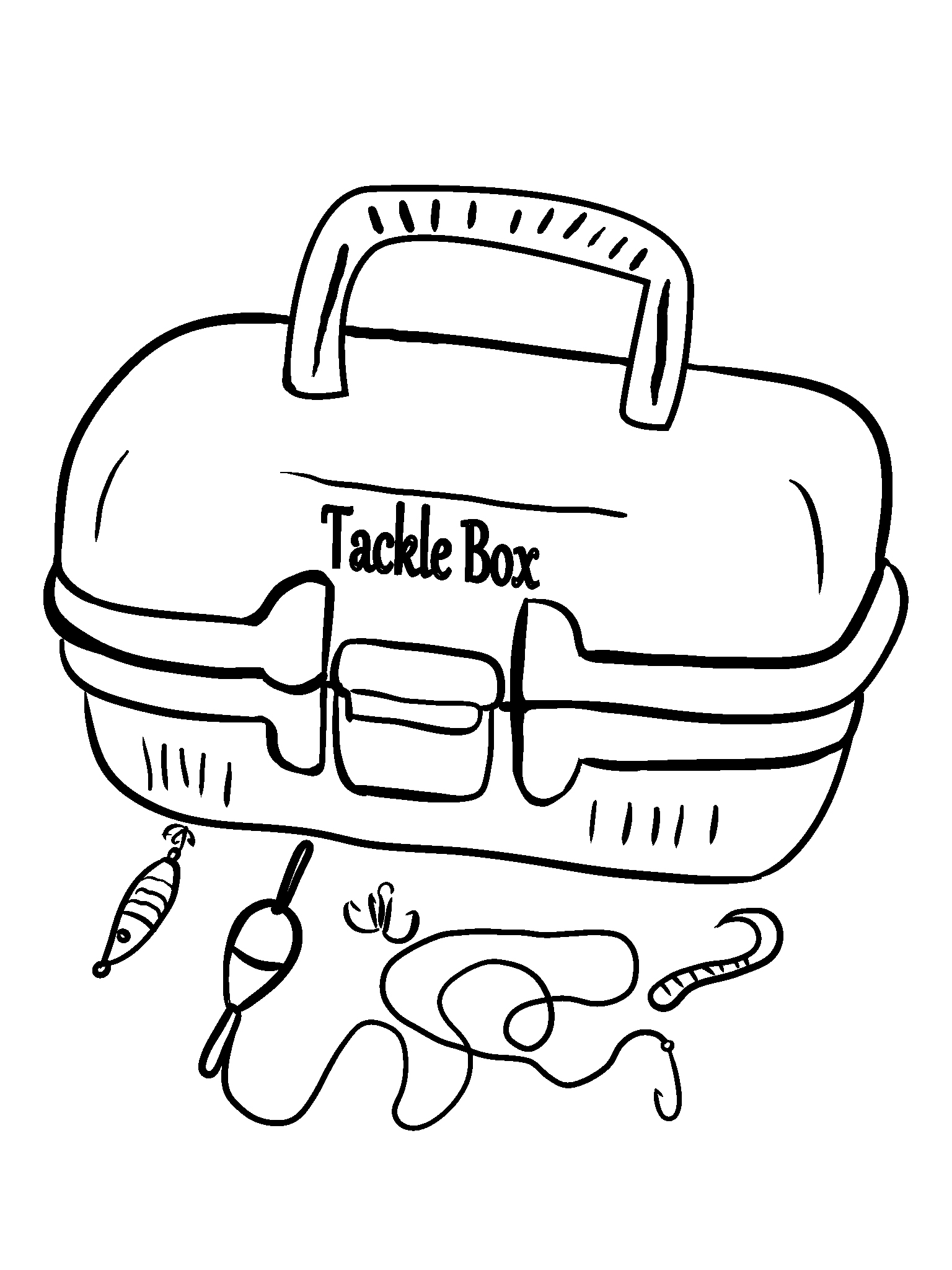 Free fishing pole coloring pages ~ Fishing Rod Coloring Page at GetDrawings.com | Free for ...