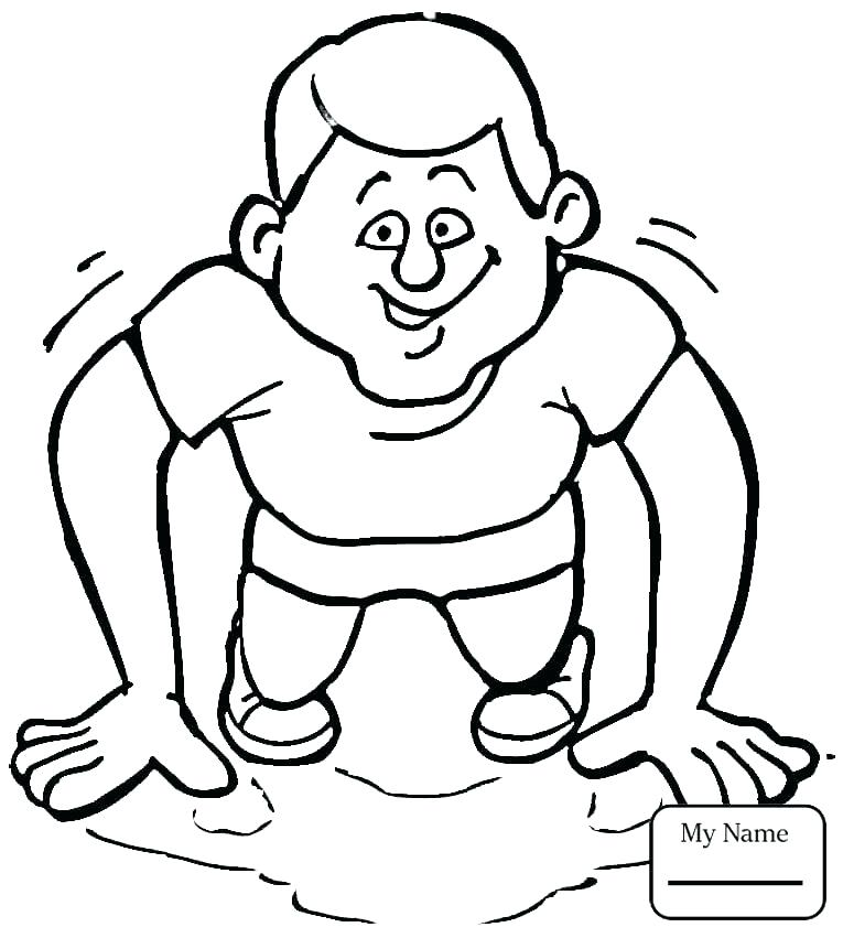 765x851 Fitness Coloring Pages Kids Sports Coloring Pages Coloring Pages