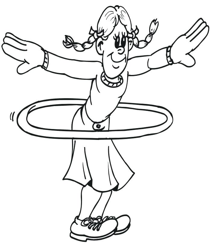 700x824 Fitness Coloring Pages Preschool Fitness Coloring Pages