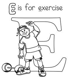 236x262 Unique Fitness Coloring Pages Health And Schoolfamily Page