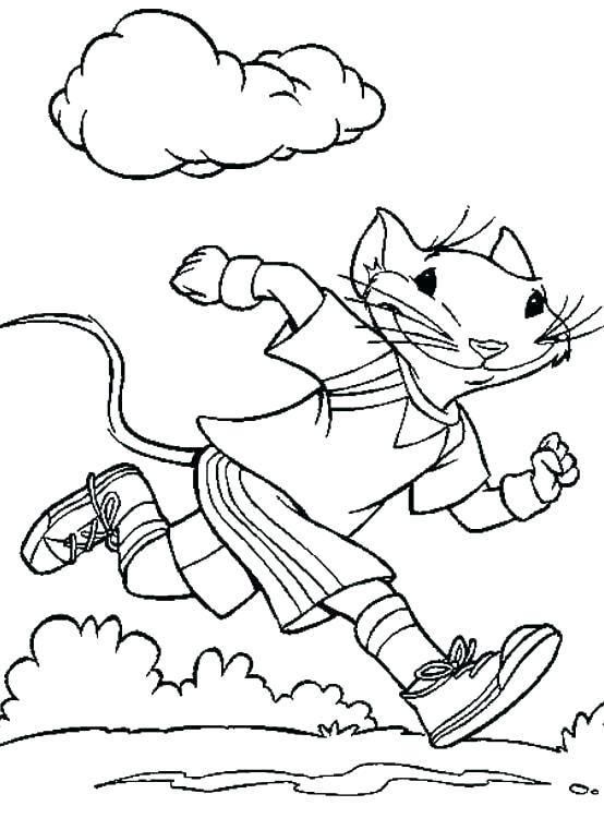 554x761 Exercise Coloring Pages Printable