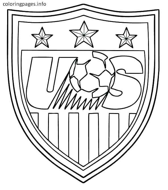 591x667 Coloring Pages Of The American Flag