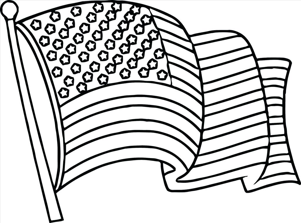 1023x759 Flag Coloring Pages Top Flag Coloring Pages Wall Picture Flag