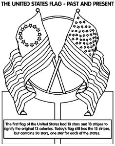 236x299 Flag Day Coloring Pages Free
