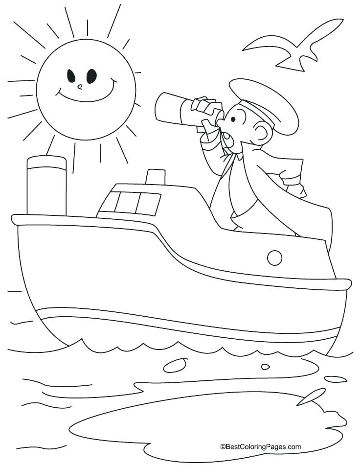 738x954 Pirate Ship Coloring Pages Pirate Ship Coloring Pages Free Small