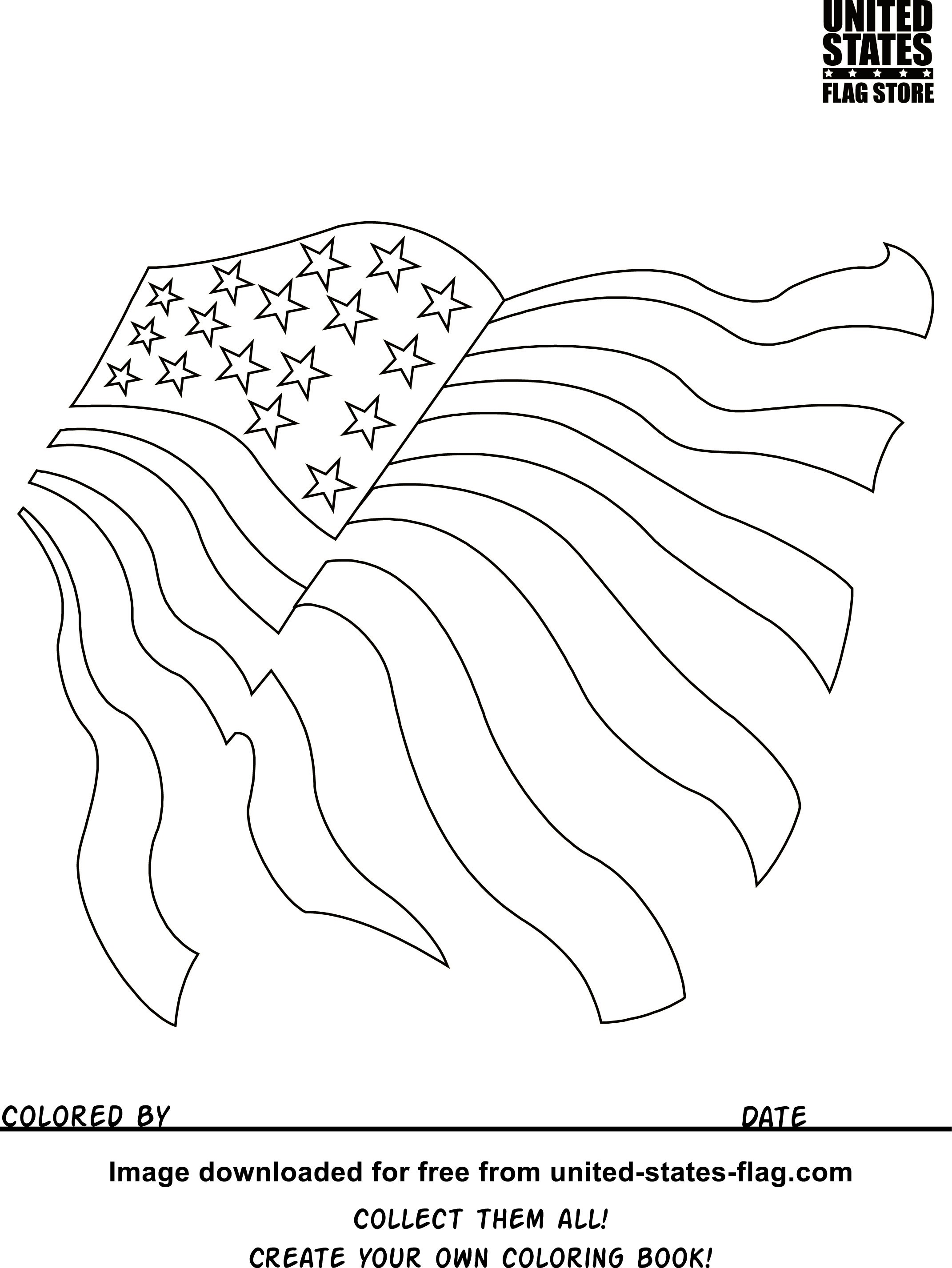 2142x2854 State Coloring Pages Unique Free American Flag Coloring Pages