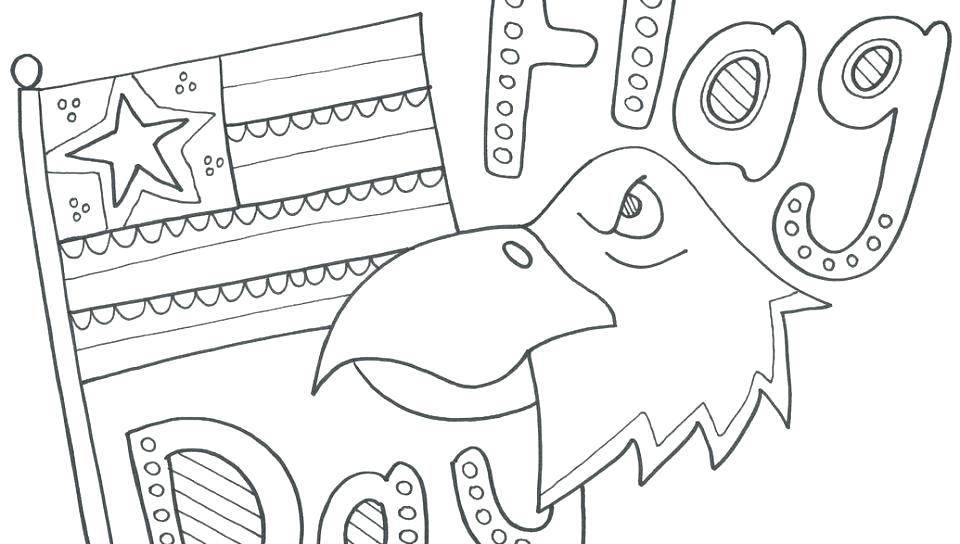 960x544 Flag Day Coloring Pages Printable