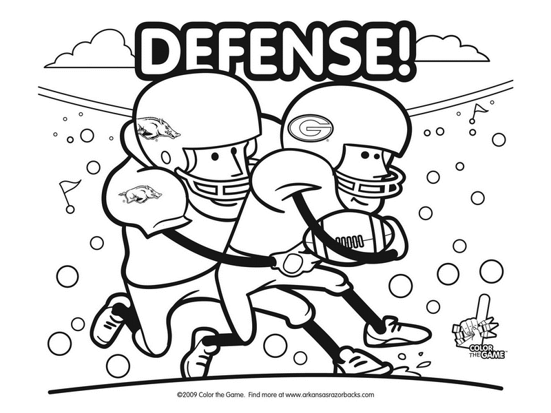 800x600 Astounding Inspiration Football Coloring Pages Printable College