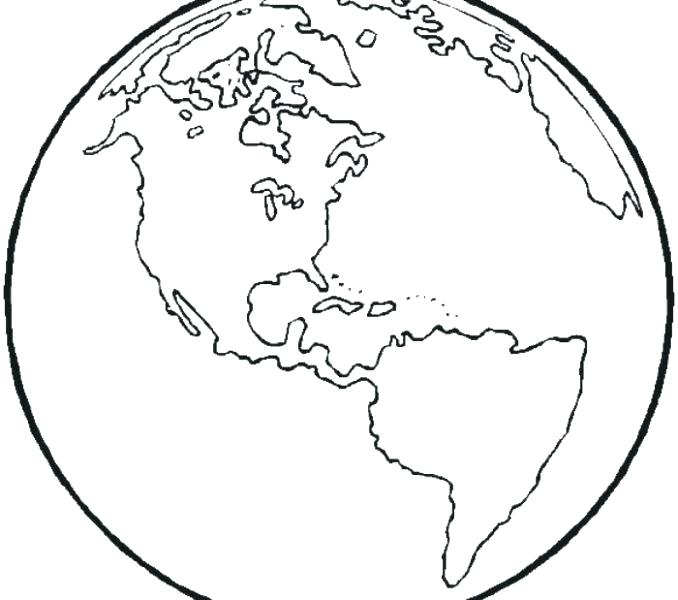 678x600 Map Of World Coloring Page World Map Coloring Pages The World
