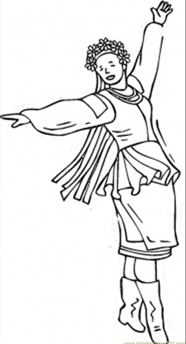 650x1200 Spanish Woman Dancing Flamenco Coloring Page For Kids Impressive