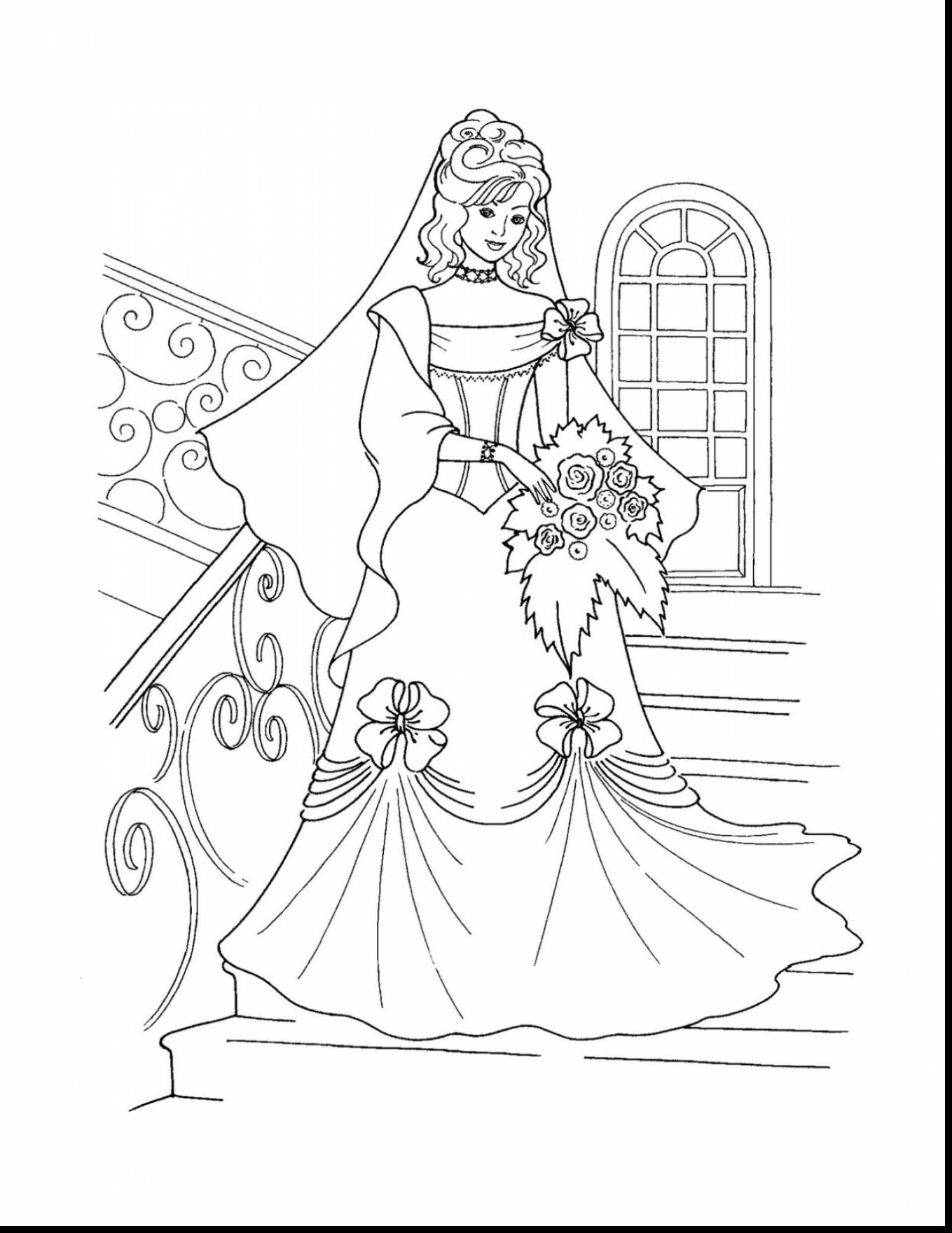 1359x1760 Colorful Dress Coloring Pages To Print Flamenco Page Free