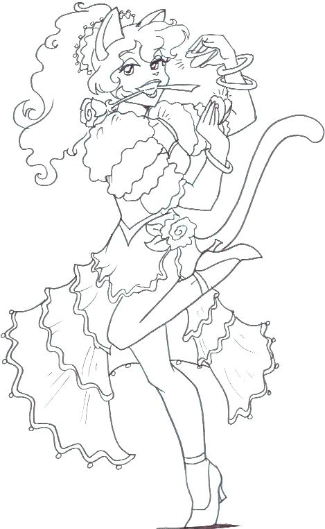 469x762 Dancer Coloring Pages