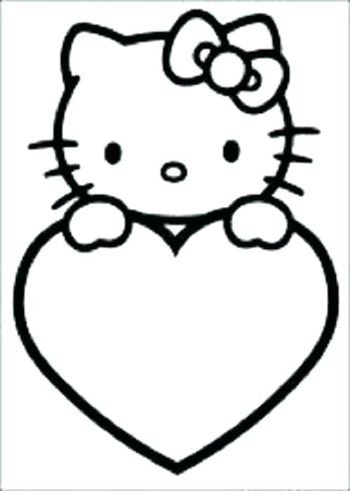 499x700 Coloring Pages Heart Hearts Coloring Pages Free Heart C Popular
