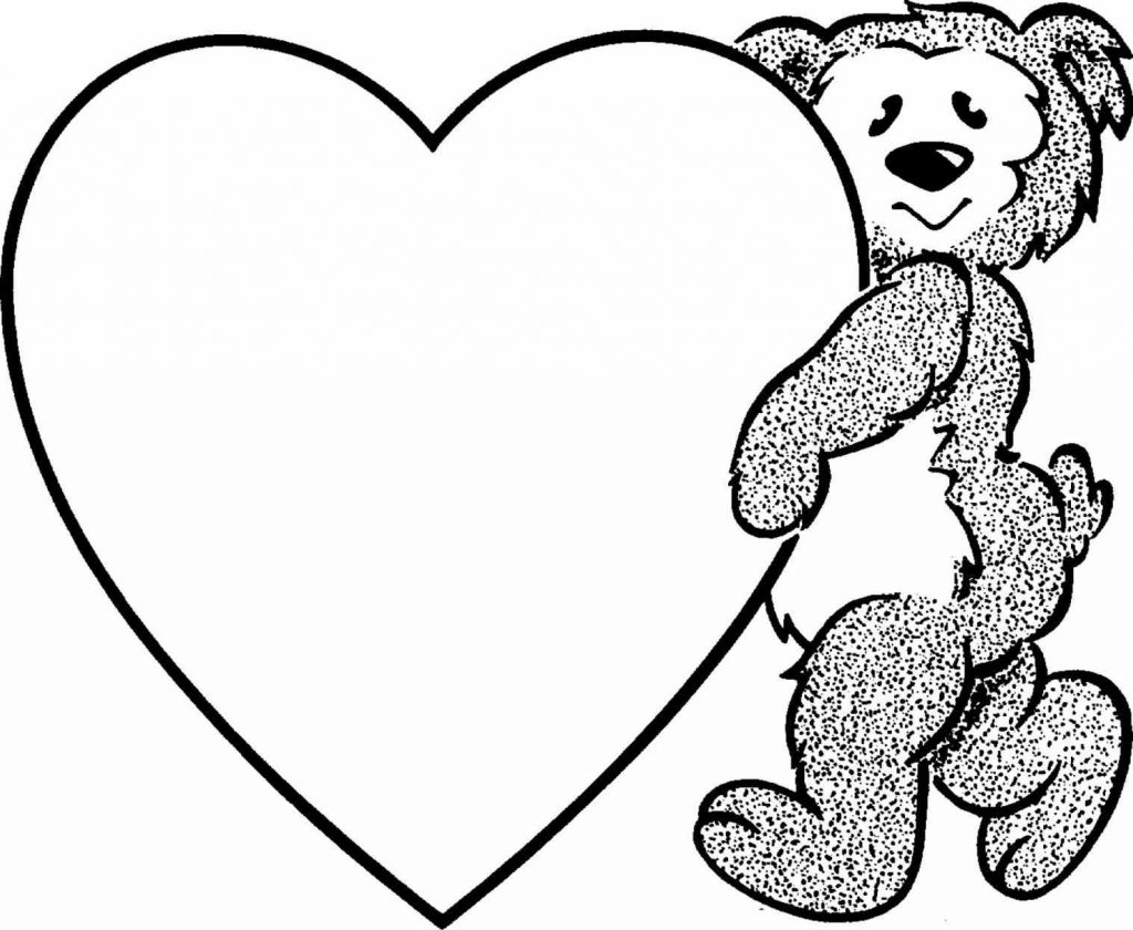 1024x840 Coloring Pages Of Hearts