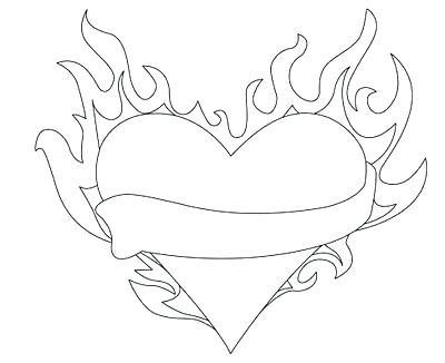 400x326 Flame Coloring Page Flame Coloring Pages Flame Coloring Pages