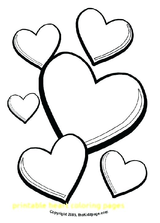 521x724 Hearts Coloring Page Roses And Hearts Coloring Pages Heart