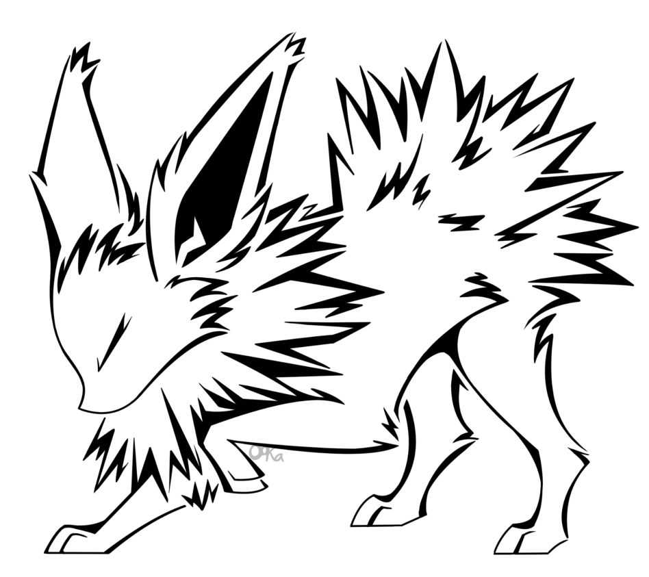 948x843 Flareon Coloring Page Pictures Free Coloring Pages