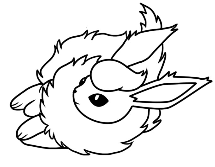 683x533 Flareon Dream World Coloring Page