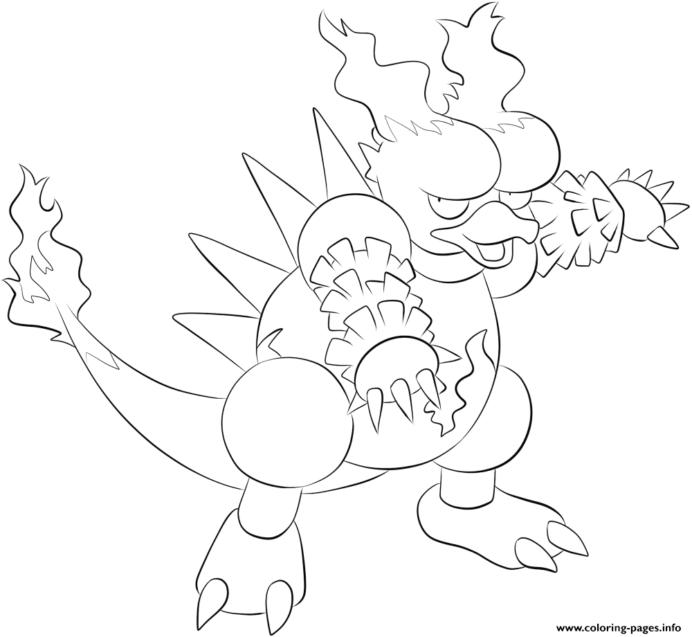 1000x920 Flareon Coloring Pages Collection