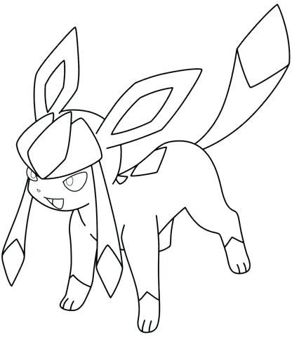 416x480 Flareon Para Colorear Coloring Page Pokemon Umbreon Para Colorear