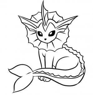 Flareon Pokemon Coloring Pages At Getdrawings Com Free For