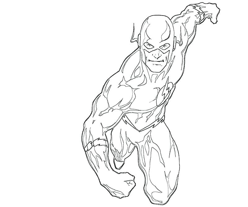 800x667 The Flash Coloring Page Flash Coloring Page Beautiful Flash