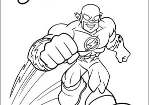 296x210 The Flash Coloring Pages