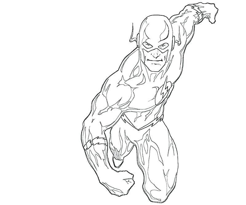 800x667 Flash Coloring Pages Beautiful Flash Superhero Coloring Pages