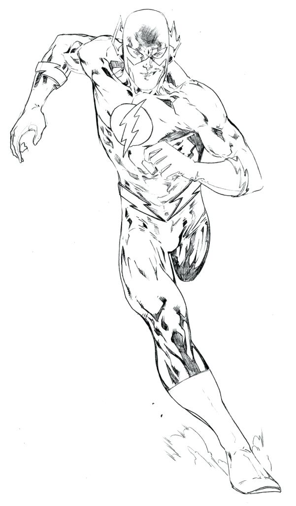 601x1024 Flash Coloring Pages The Flash Coloring Page Reverse Flash
