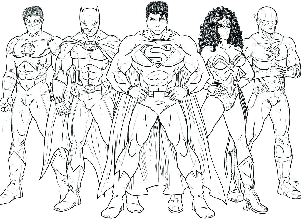 1024x745 Flash Coloring Page The Flash Coloring Pages Justice League Flash