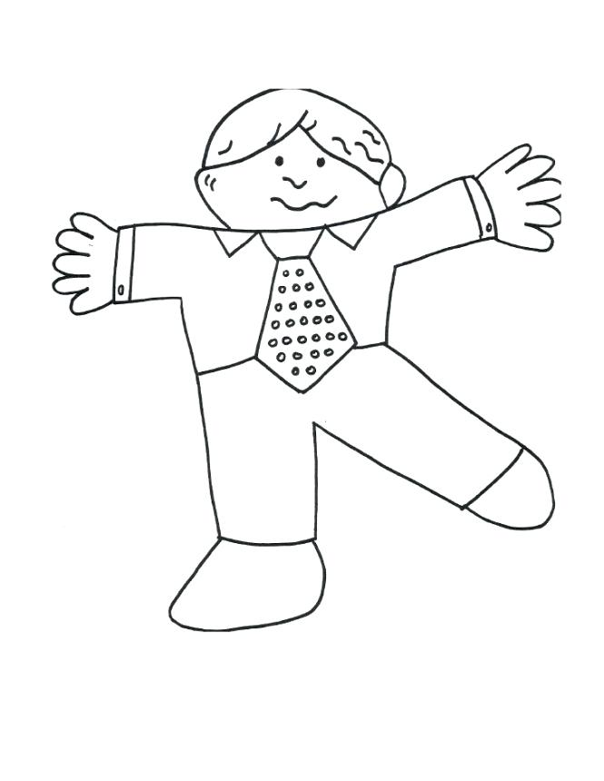 665x860 Flat Stanley Coloring Page Flat Coloring Page Flat Template Cut