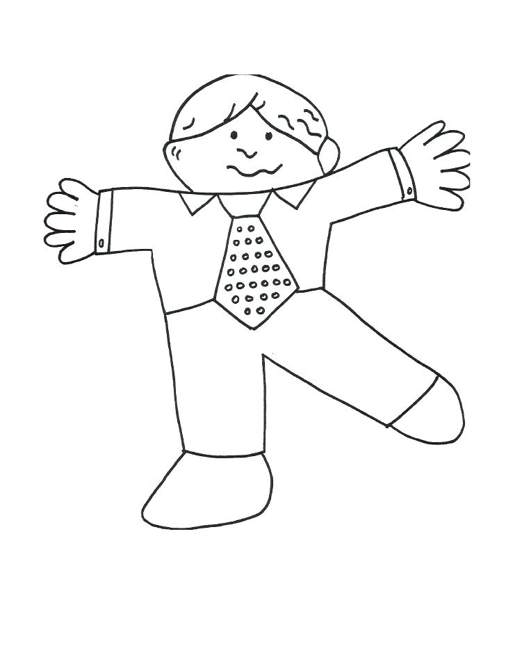 728x942 Flat Stanley Coloring Page Flat Template Flat Stanley Coloring