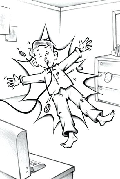 414x616 Flat Stanley Coloring Pages