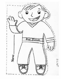 236x305 Best Photos Of Free Flat Stanley Printable Coloring Sheet