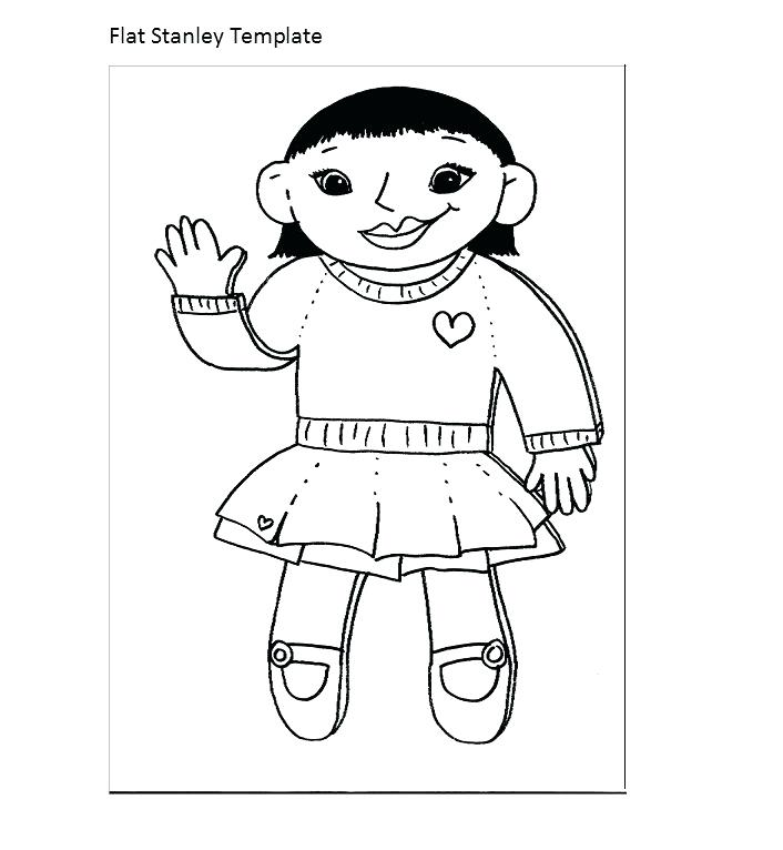 706x766 Flat Stanley Color Pages Coloring Page Sheets Pirate Worksheets