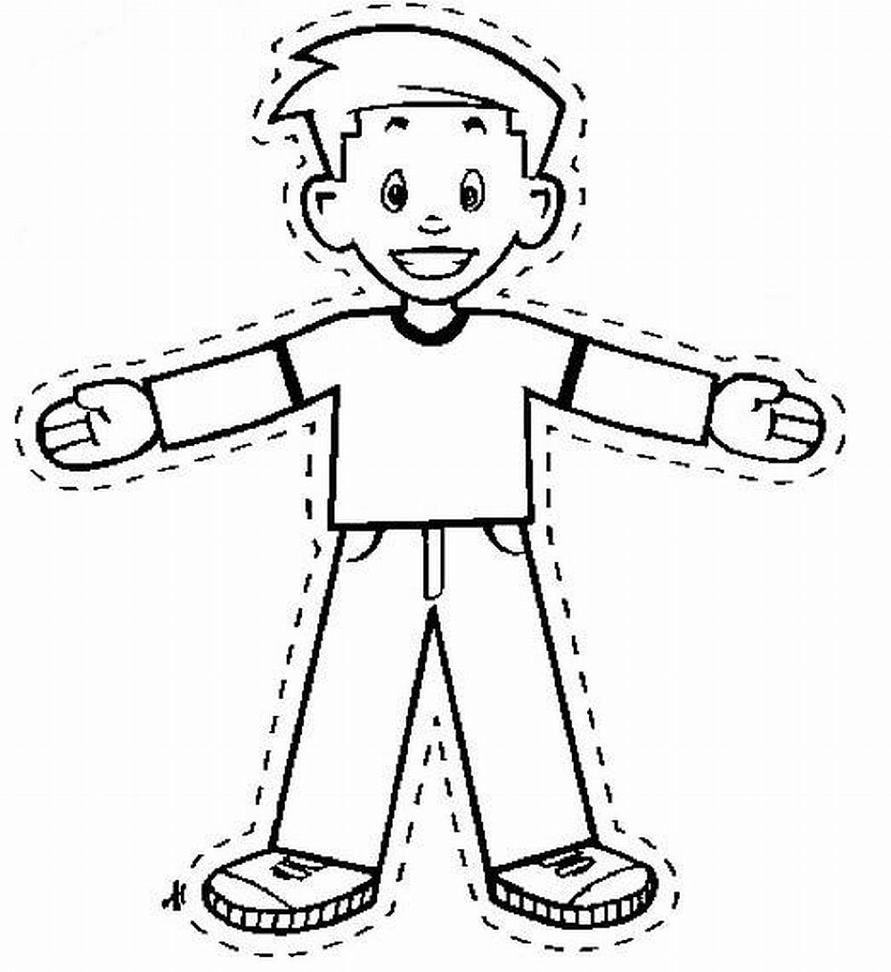 1000x1090 Flat Stanley Coloring Page Printable Coloring Pages Flat