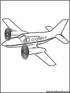 236x310 Airplane Coloring Page Of A Biplane In Flight The Website Has