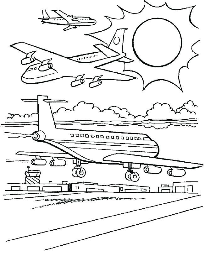 652x817 Airplane Coloring Sheet Gites Valley Airplane Coloring Sheet