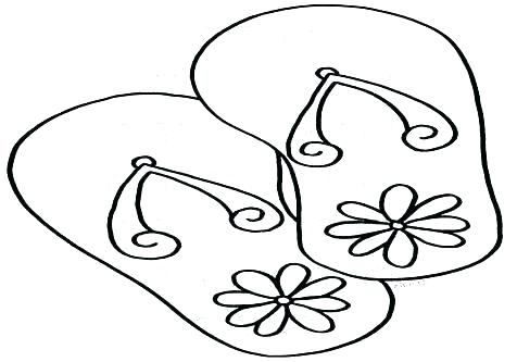 476x333 Coloring Flip Flops Coloring Pages