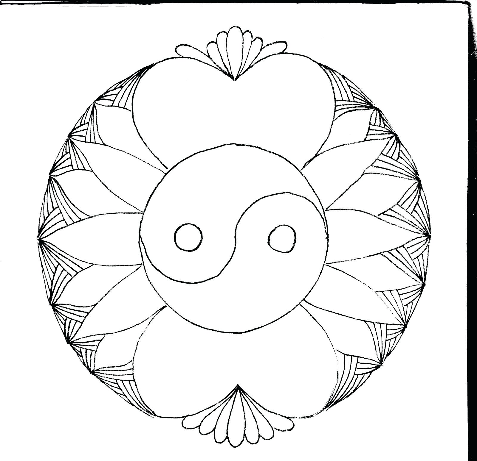 1600x1549 coloring page flip flop coloring page book yin yang