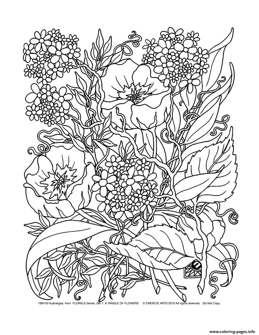 1024x1324 Adult Savage Flowers Coloring Pages Printable