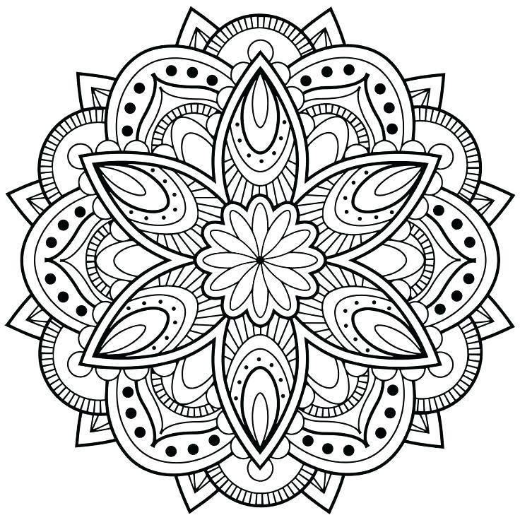 736x736 Flower Design Coloring Pages Designs Coloring Pages Coloring Page
