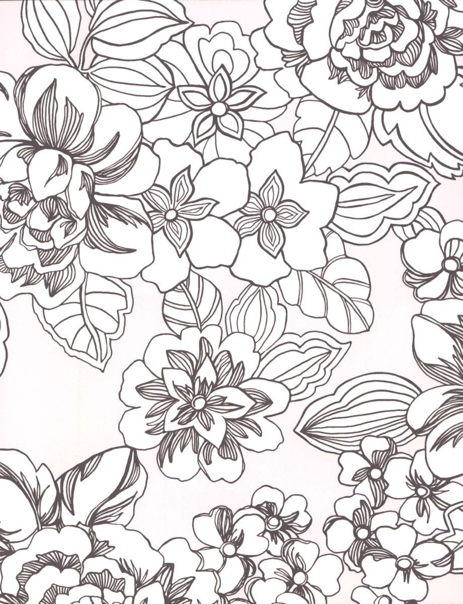 920x1200 Pattern Coloring Pages For Adults