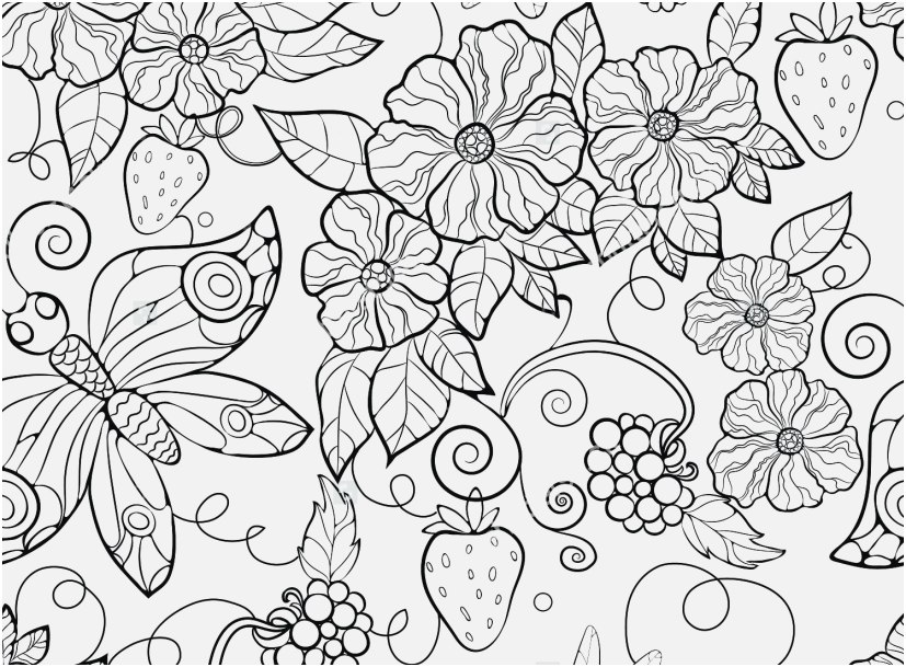 827x609 The Best Pic Advanced Coloring Pages Flowers Awesome