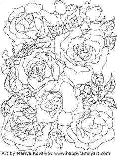 236x315 Creative Haven Floral Design Color